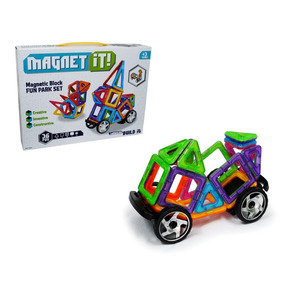 Figura Geometricas Magneticas 36 Piezas