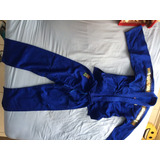 Kimono Judô Infantil Azul
