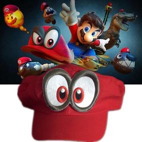 Gorra Mario Odyssey Trucker Nintendo