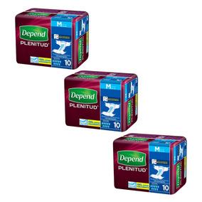 Caja De Depend® Plenitud Mediano 3 Paquetes