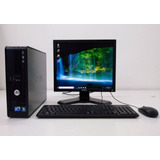 Computadora Core2duo 4gb 160 Disco Monitor 17 Ideal Ciber