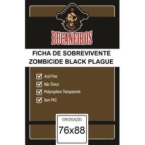 Sleeves Bucaneiros Para Sobreviventes Zombicide Black Plague
