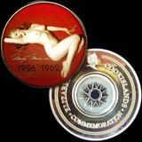 Medalla Conmemorativa Marilyn Monroe Colorizada Bañada Oro