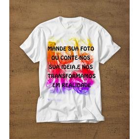 1847495276e7b Camiseta Personalizada Imagem Frente E Verso - Camisetas e Blusas no ...