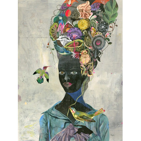 Poster Cartaz Black Maria Antonieta Olaf Hajek 40x27 Cm