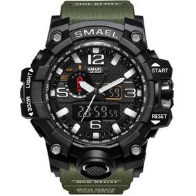 Relógio Militar Smael Analógico Digital Pronta Entrega