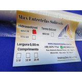 Entretela Hidrossolúvel Para Bordado Max 35 - 10mx0,50m