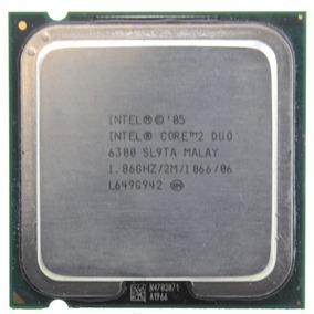 Procesador Intel Core2duo E6300 1.86ghz