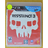 Resistance 3 Ps3 Play Magic
