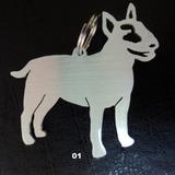 Pingente Tag Placa Medalha Identificação Pets Bull Terrier