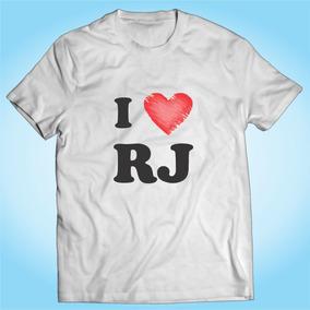 Camisa I Love Rj - Cidade - Rio De Janeiro - Personalizada c9842d27e85