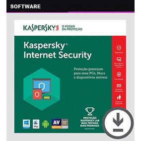 Kaspersky Internet Security 2019 Chave Original 1 Ano 3 Pcs