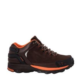 Zapato Hiker Hummer M411 Color Cafe Originales