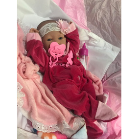Bebê Reborn Barato Pronta Entrega Menina Corpo Silicone