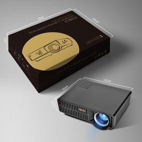 Projetor De Led 3500 Lumens C90up, P/entrega Cinema Em Casa