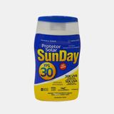 Protetor Solar Fps 30 1/3 Uva 120ml Sunday