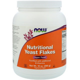 Levedura Nutricional Now, 284 G. - Nutritional Yeast Flakes
