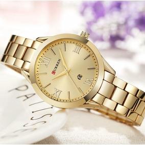 4bc32d4df0d Relogio Feminino Menor Preço Dourado - Relógios De Pulso no Mercado ...