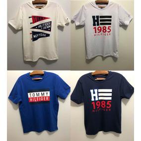 974035ce409a5 3 Camisetas Tommy Hilfiger Ou Ralph Lauren Marca Famosa - P