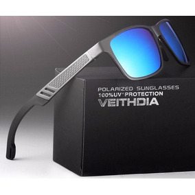 Gafas Aluminio Magnesio Polarizada 57mm Espejo Uv400