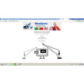 Criação De Sites, Primeira/uma Pagina). Hospedagem Grátis!