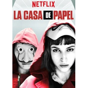 Serie Dvd La Casa De Papel 1 E 2 Temporadas + Frete Gratis
