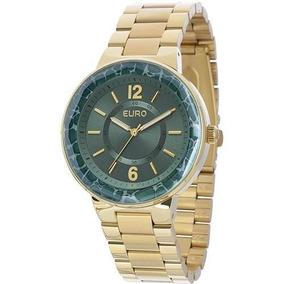 46e81c456d9 4v Rel%c3%b3gio Euro Feminino Opole Eu2035lxm - Relógios De Pulso no ...