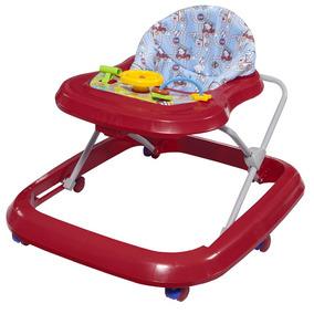 Andador De Bebê Musical Tutti Baby Toy Vermelho