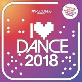 Cd I Love Dance 2018 Int Varios Nuevo En Stock