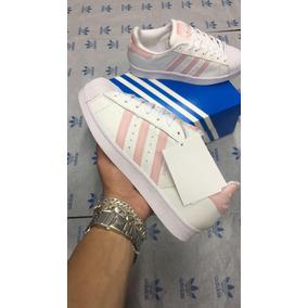 1ee9501497594 Adidas Superstar Rosa Bebe - Adidas no Mercado Livre Brasil