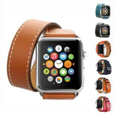 4a776873a89 Pulseira Couro Double Tour Hermes Apple Watch Series 1 2 3 4
