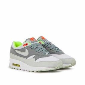 Tenis Nike Air Max 1 Grey Neon Mujer Talla 25mex 319986 107