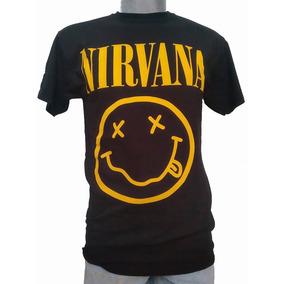 Playeras Nirvana Logo Grande