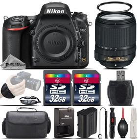 Nikon D750 Dslr 24.3mp Wifi Camera + 18-140mm