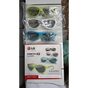 3 Óculos 3d Lg