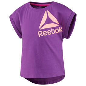 Blusa Reebok Violeta Infantil