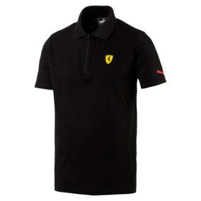Playera Puma Ferrari Polo Shirt 2 762143-02 Negro