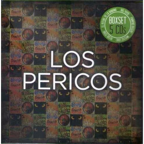 Los Pericos Box Set 5 Cd Big Yuyo Pampas Reggae Desde Cero