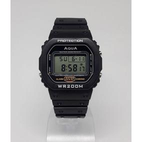 Relógio Bolsonaro Presidente 2019 Digital Aqua Prova D
