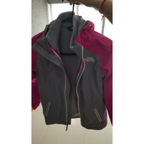 840dfae3d2179 Campera The North Face Con Polar Adentro