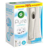 Aromatizante Air Wick Aparato Freshmatic Pure Soft Cotton