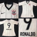 Camisa Corinthians 2008 Ronaldo - Futebol no Mercado Livre Brasil 6a942317763cc