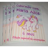 30 Livros Para Colorir + 30 Almofada Pinte E Lave +canetinha