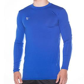 Camisa Super Bolla Compressão Manga Longa - Cor Azul Royal 1e74464b425e1