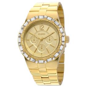 Relógio Feminino Analógico Euro Eu6p29agf/4d