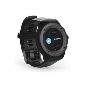 Ghia Smart Watch Draco Negro/1.3 Touch/ Heart Rate/ Bt/ Gps