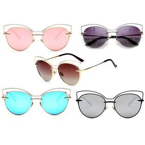 34e1b7096ee1a Oculos De Sol Feminino Gatinho Di Gato Promoção Especial!