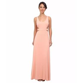 Vestido Fiesta Noche Calvin Klein Talla 16 Coral