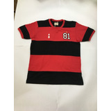 Camisa Retro Rubro Negra Libertadores 1981