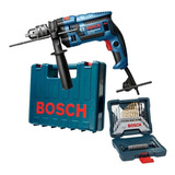 Furadeira Industrial 1/2 Gsb 16re 750w + Kit 33 Pcs Bosch